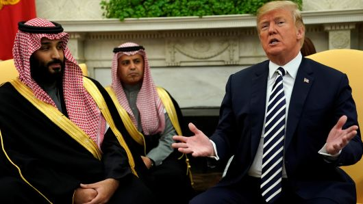 Saudi king said will boost oil output if needed: White House