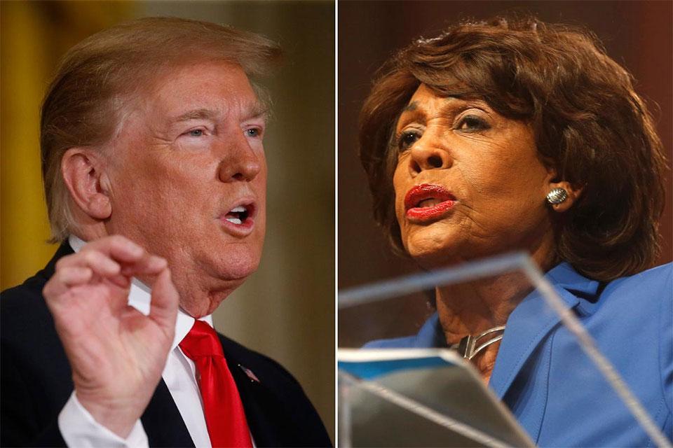 Trump, Democratic congresswoman clash as tempers rise on immigration
