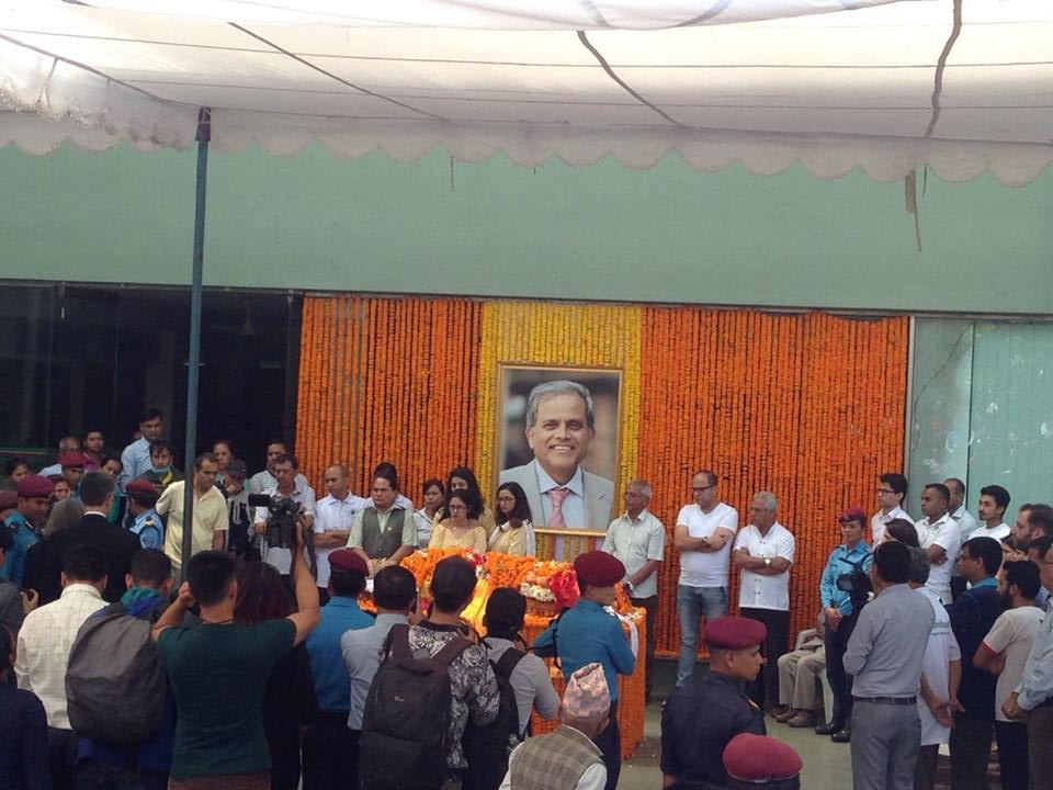 President Bhandari extends tribute to senior neurosurgeon Dr Devkota