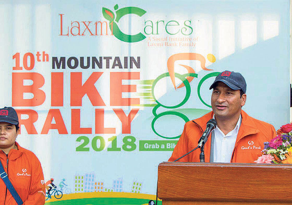 Laxmi Cares completes 10th annual mountain bike rally