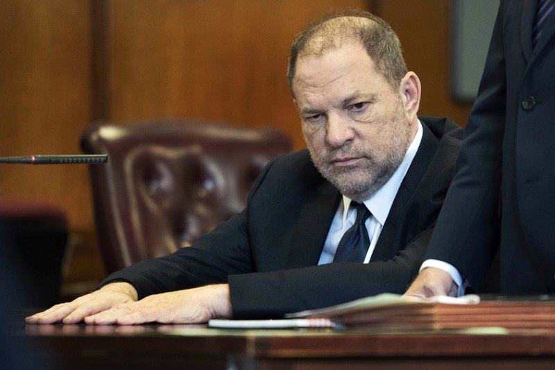 Weinstein due in court on charges he assaulted a 3rd woman