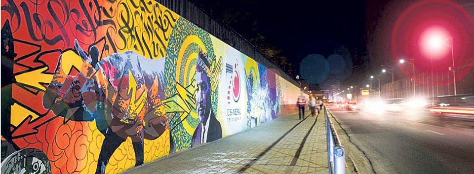 The magic of murals