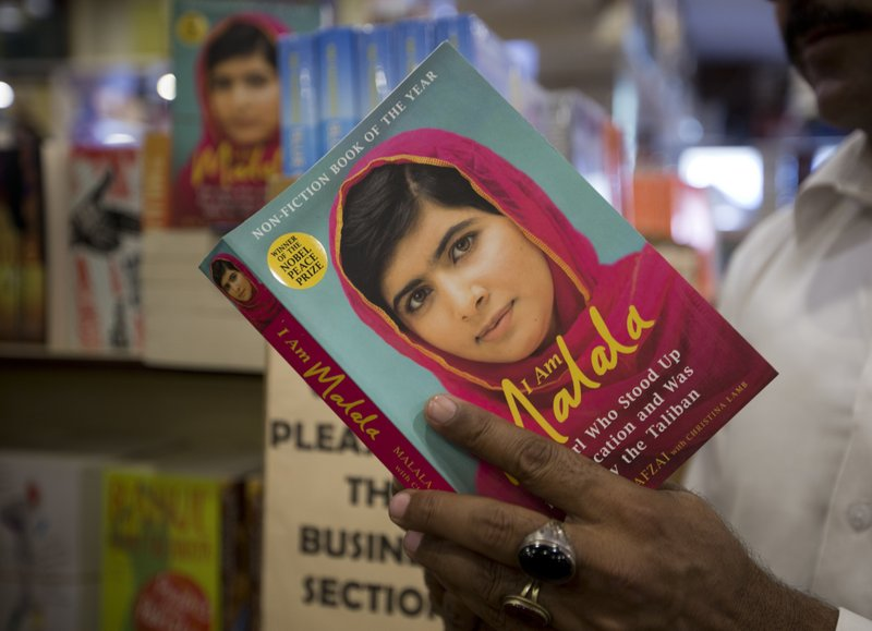 Nobel Prize winner Malala visits her Pakistan hometown