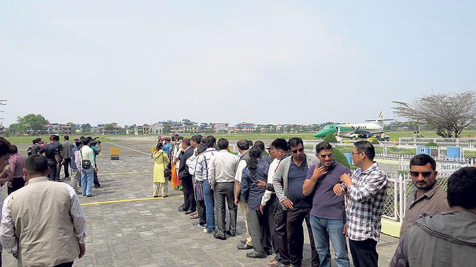 Bharatpur airport intensifies upgrade