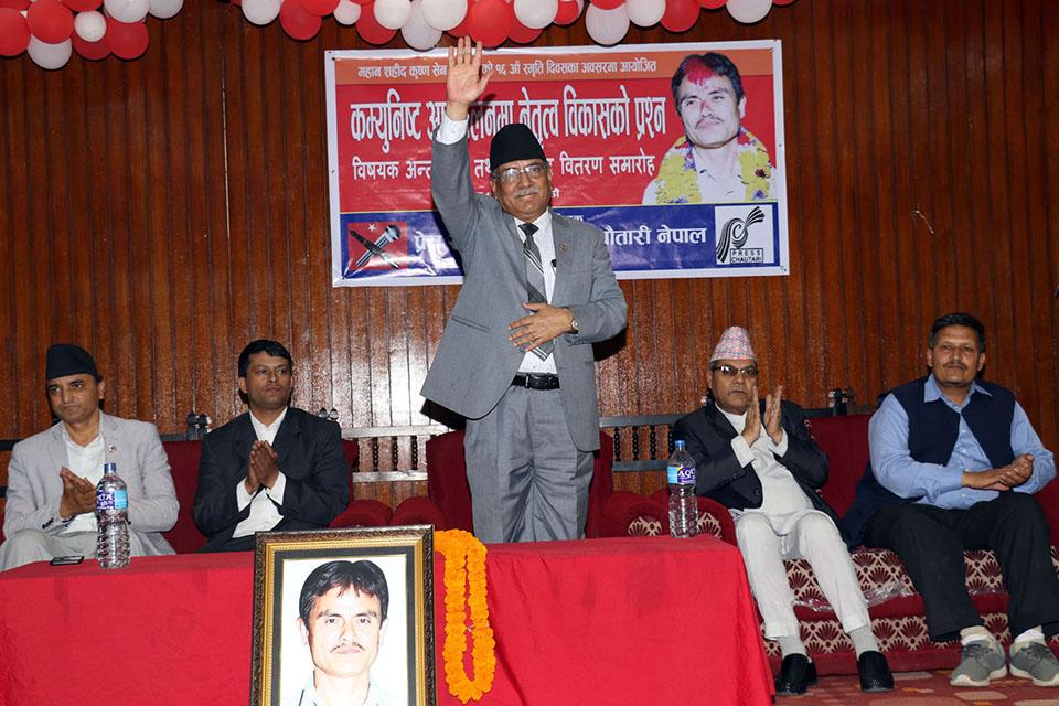 Party unification unique, multi-dynamic: CPN Chairman Dahal