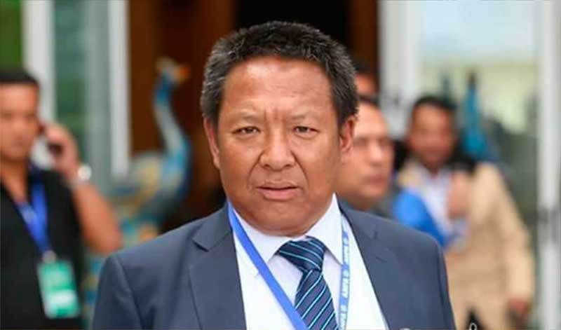 Sherpa elected ANFA president