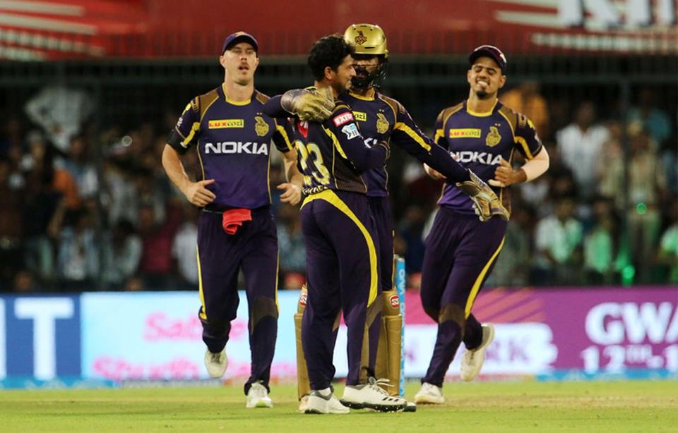 Kolkata beats Kings XI Punjab by 31 runs