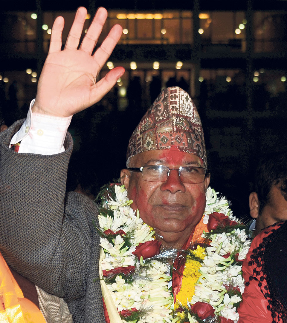 Madhav Nepal dissatisfied with govt's working style