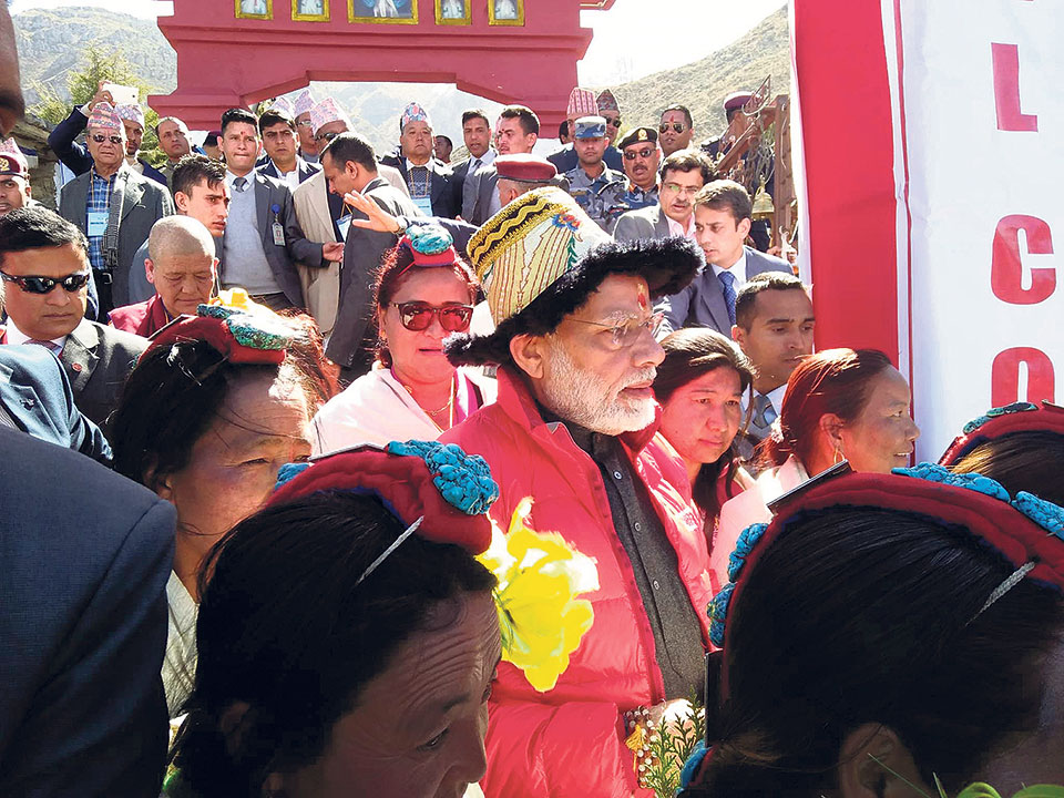 Locals excited as Modi visits Muktinath