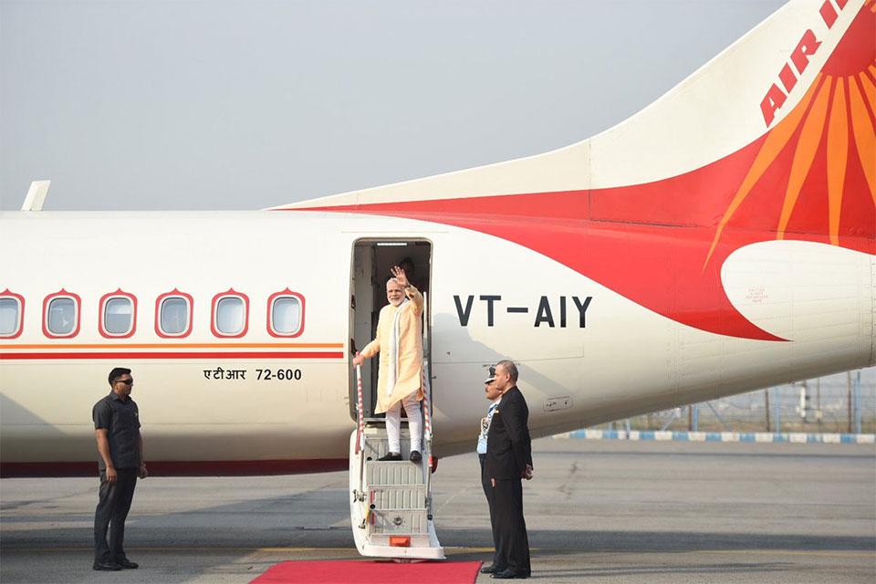 "Modi returns with ""new vigor in Nepal-India relations"""