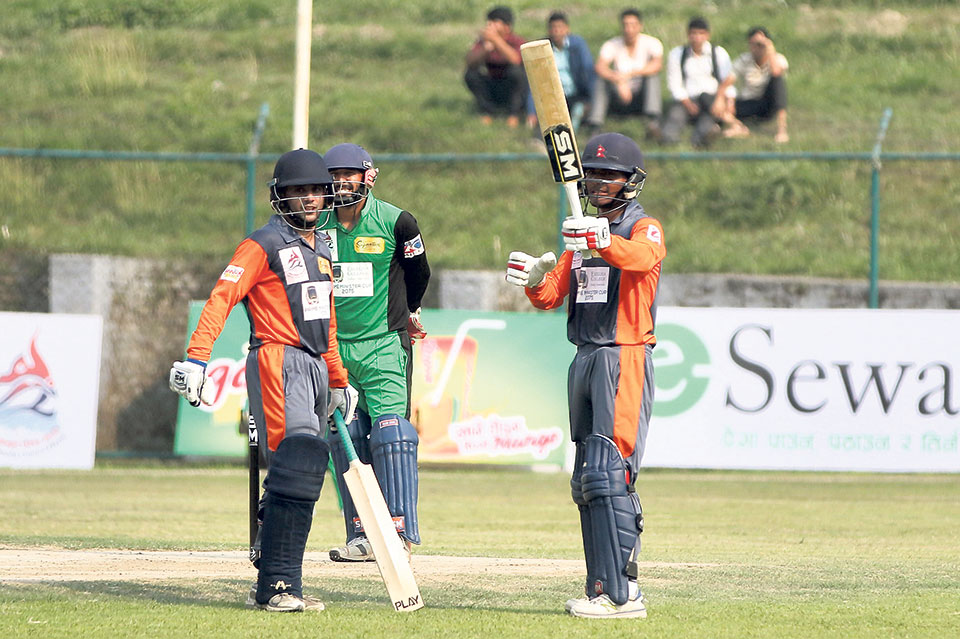 PM Cup's first day sees batting and bowling brilliance
