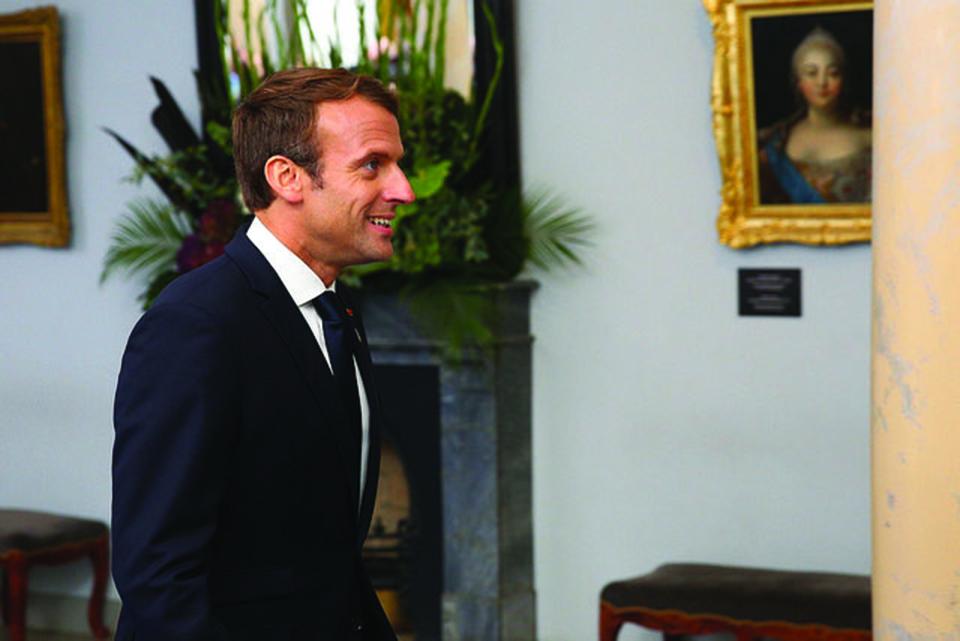 What Macron needs