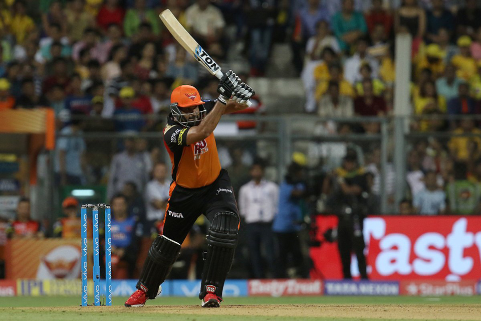 Sunrisers Hyderabad sets target of 179 runs for Chennai Super Kings