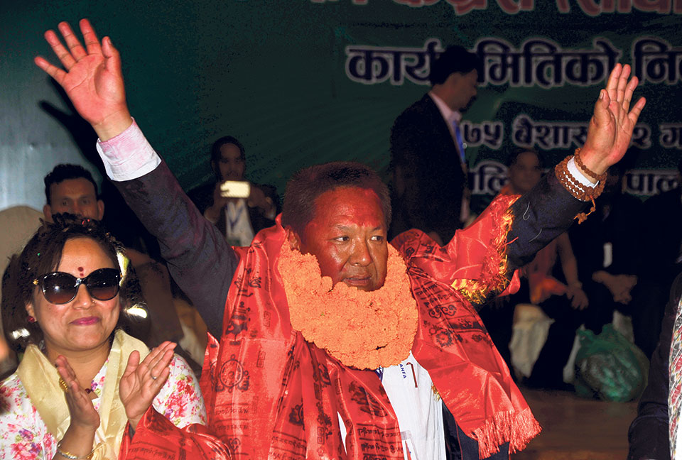Newly-elected President Sherpa vows to make ANFA corruption-free