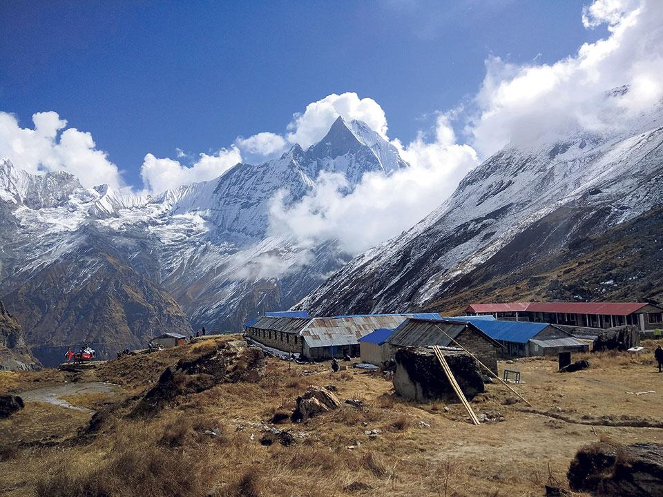 New route to reach Annapurna Base Camp