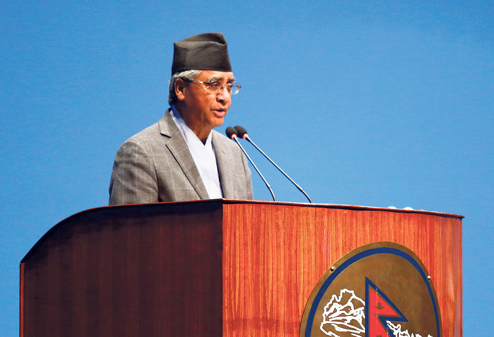 Sher Bahadur Deuba questions govt's intention in Kanchanpur incident