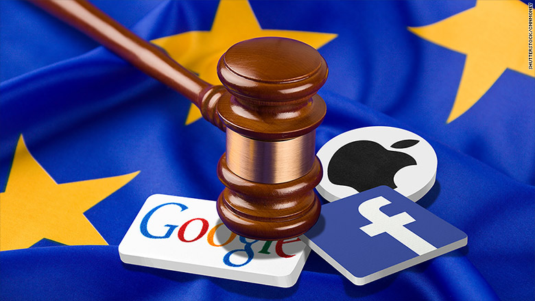Google and Facebook face up to $9.3B in fines on first day of new privacy law