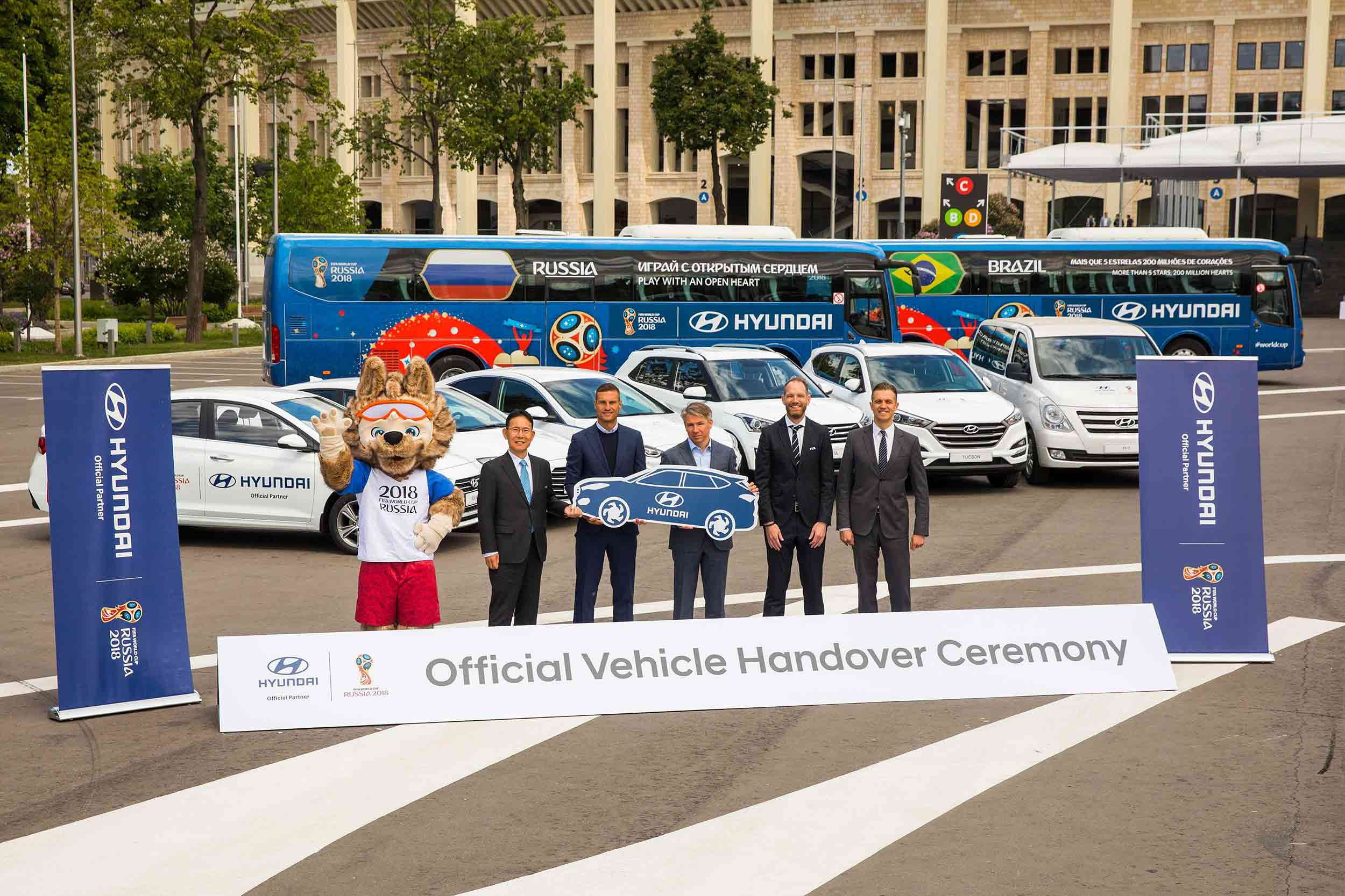 FIFA World Cup 2018 will use 530 Hyundai cars