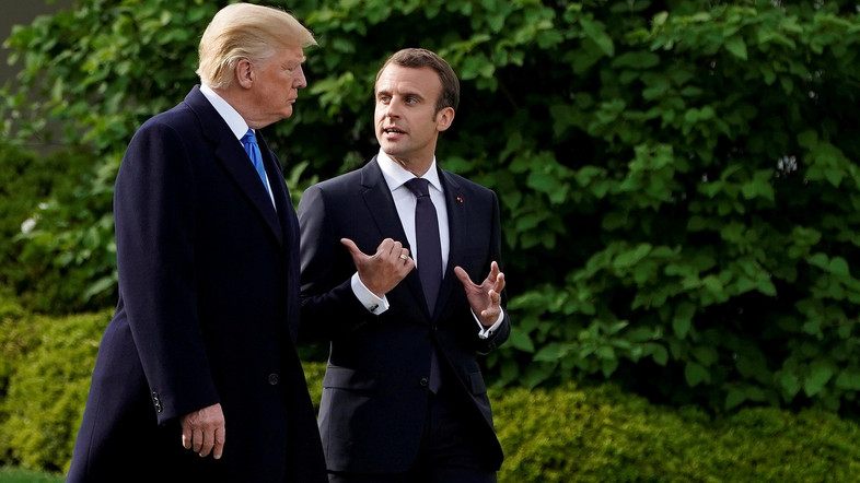 Macron talks to Trump, says tariffs illegal and a mistake