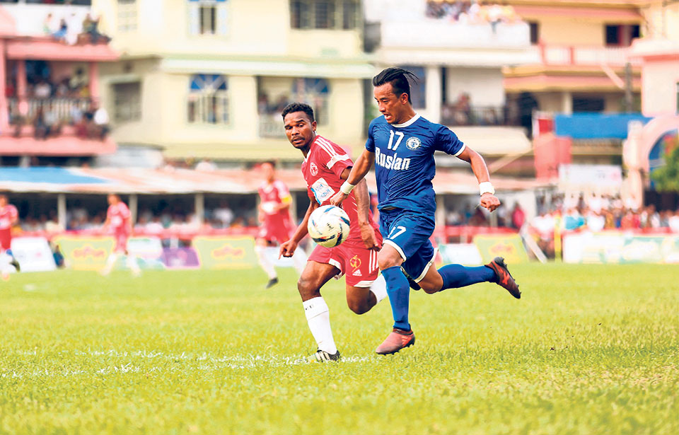 Nepal Police reaches Damak semis at Three Star's expense