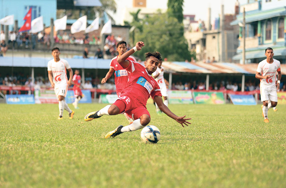 Nepal Police into Damak Gold Cup final