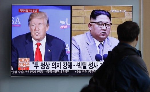 North Korea threatens to cancel US summit over drills