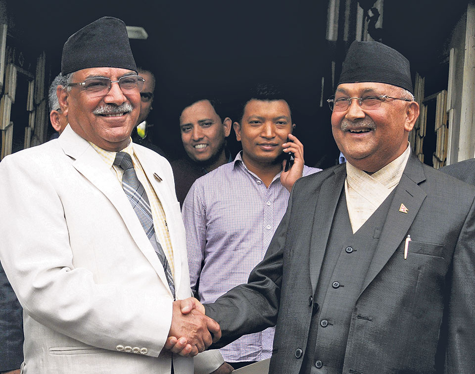 UML, Maoists may announce unification date today