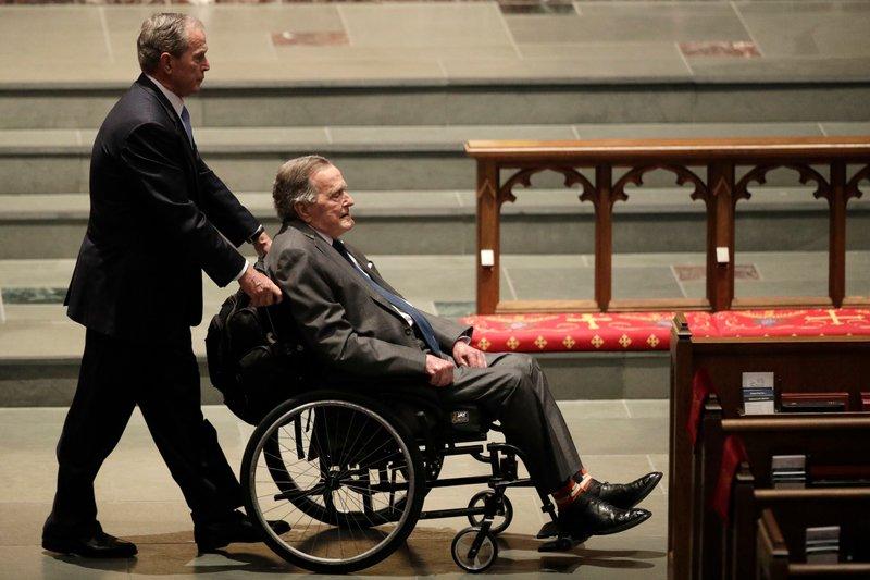Ex-President George HW Bush released from Houston hospital