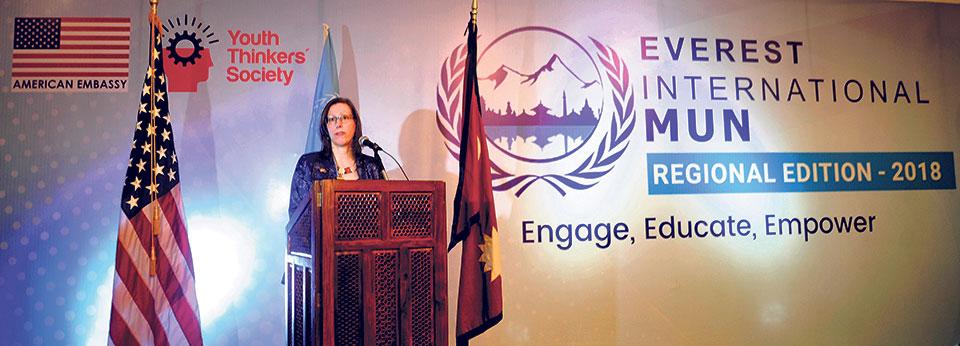 Regional Model UN Conference starts