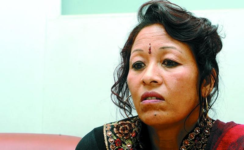 """I will take Dhungel to International Court,"" says Sabitri Shrestha"