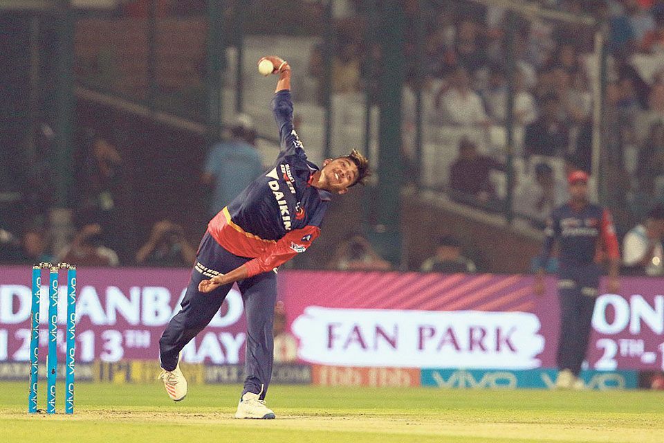 Sandeep Lamichhane leads teen dominance in Peoples' Choice Award