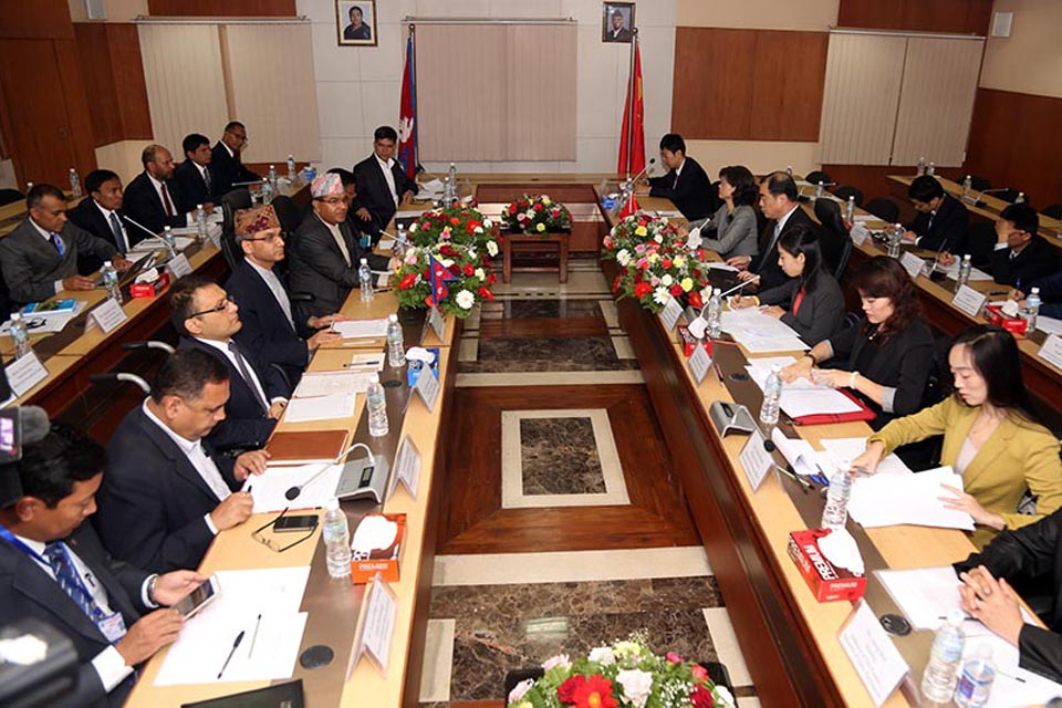 Nepal-China 12th joint consultation meeting later this week