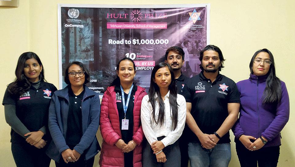 My City - Hult Prize at Tribhuvan University