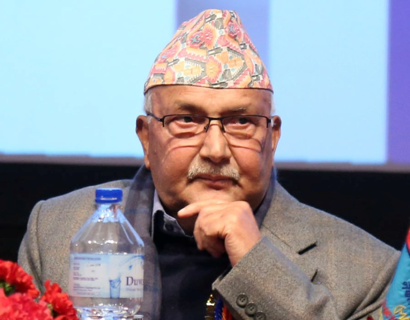 PM Oli likely to be discharged today evening, says his key aide