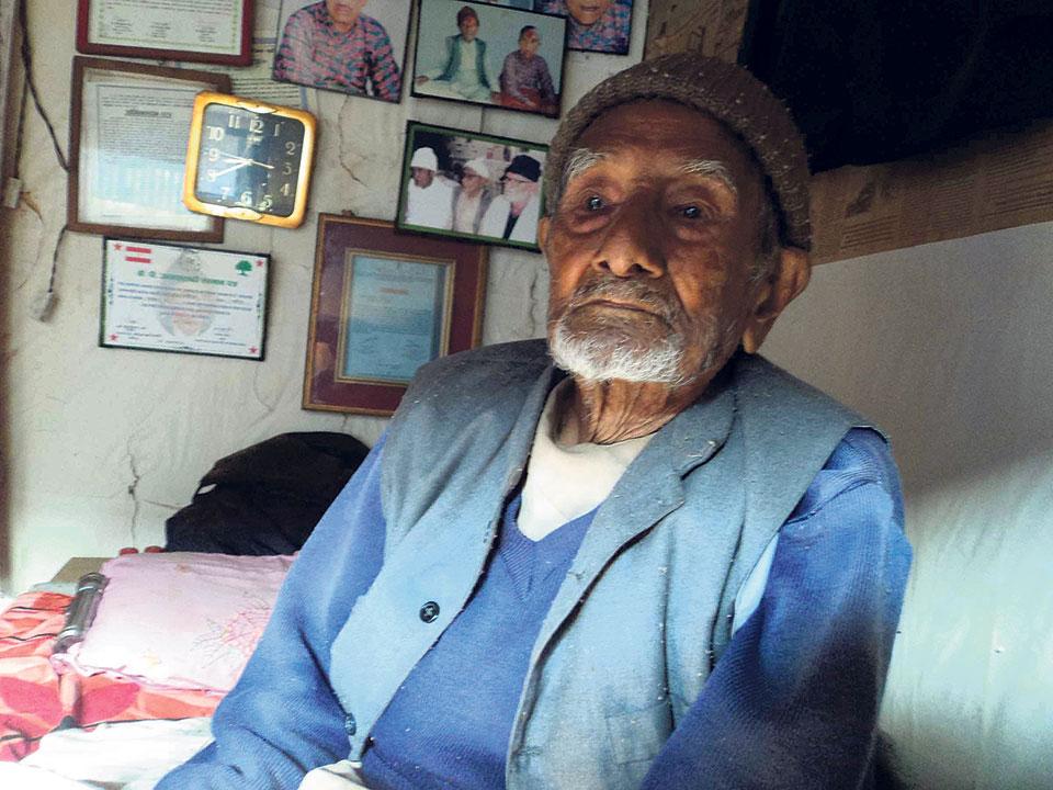 Freedom Fighter Bajimay dies at 105