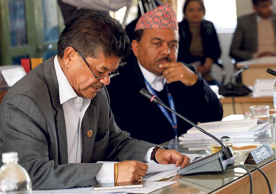 NAC officials dodge most PAC questions
