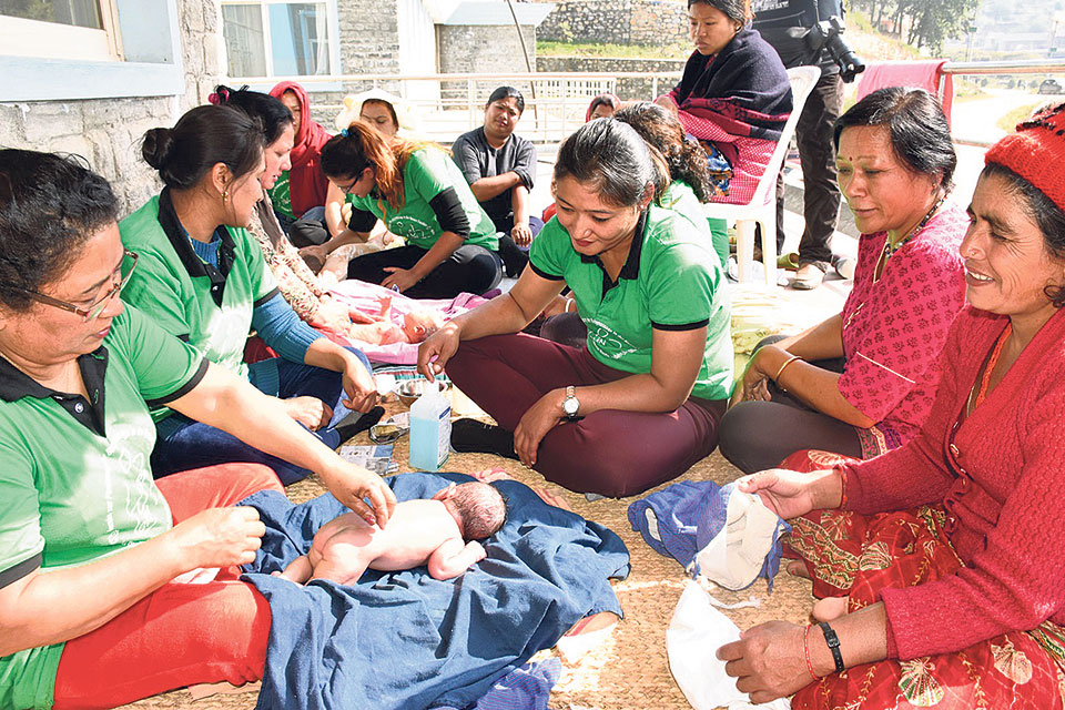 Newari oil massage 'gets foothold' in Europe, being forgotten in Nepal
