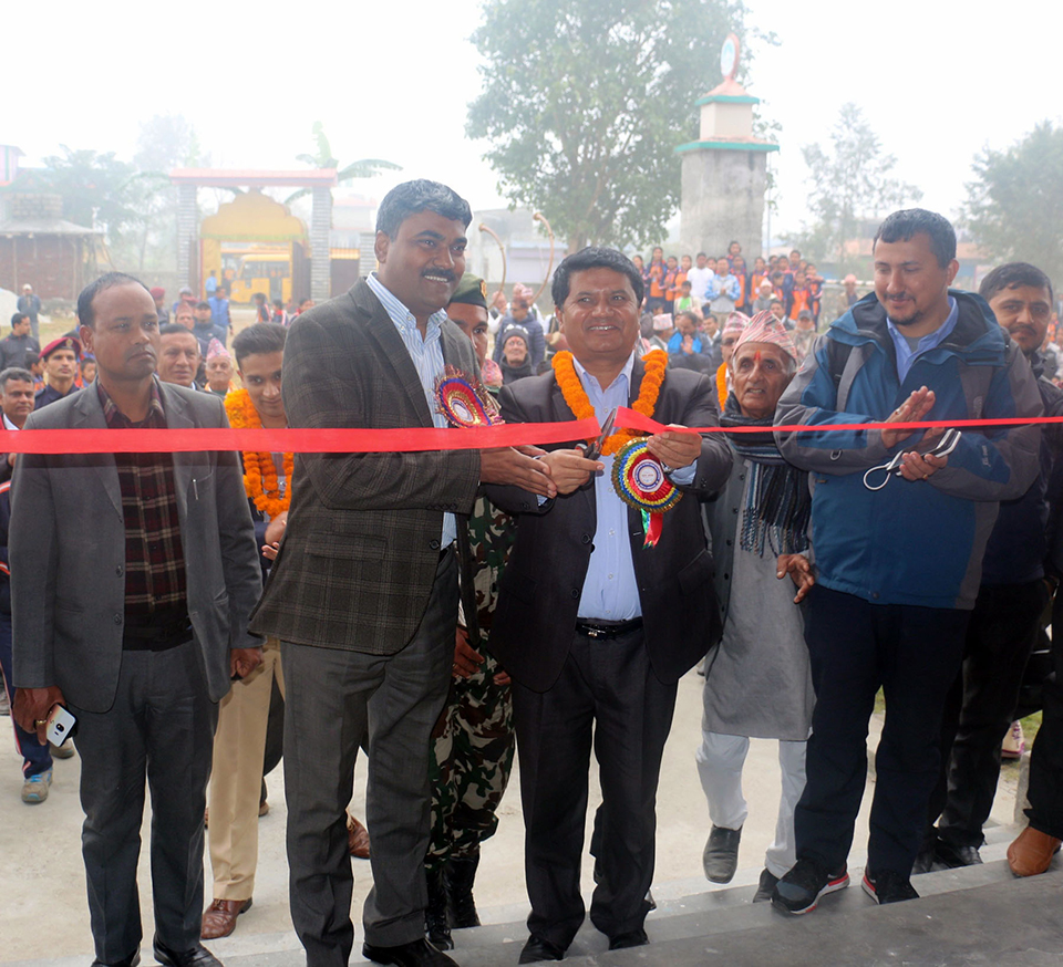 Government firm in its commitment: Minister Adhikari