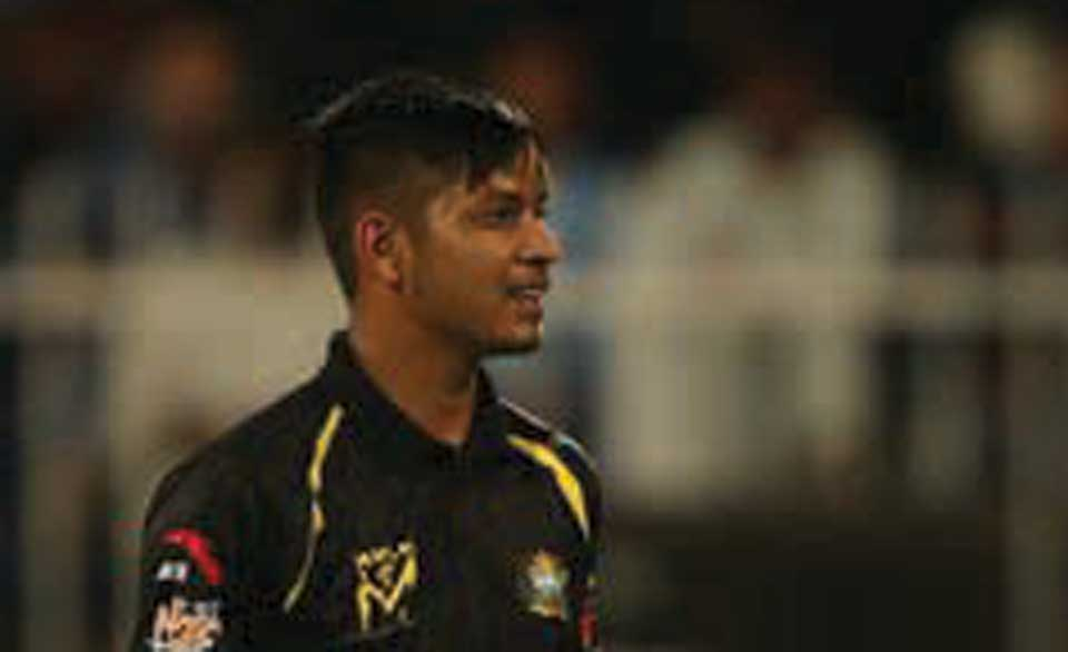 Lamichhane concedes 2nd most expensive bowling spell in T10 cricket