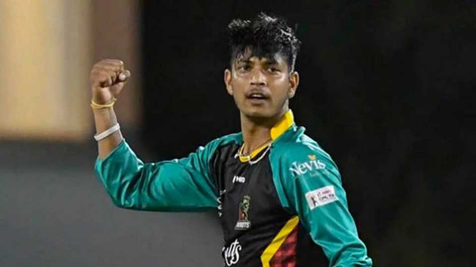 Lamichhane shines in Kerala's win, grabs man of the match award