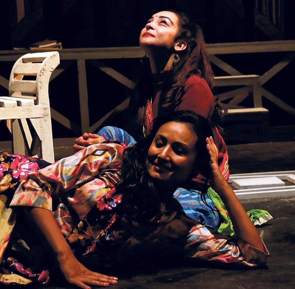 'Shakuntalako Aunthi' on Stage