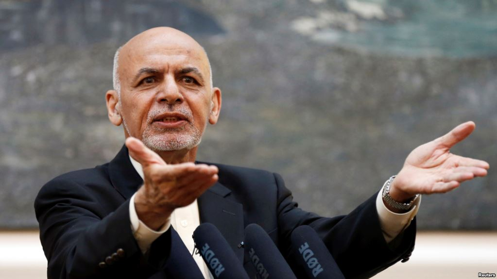 Afghan president says his government must be 'decision-maker' in any peace deal