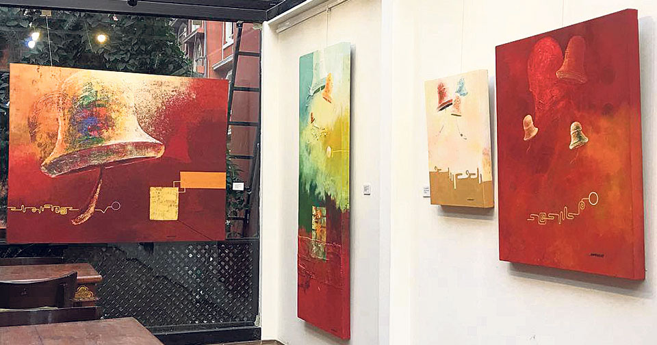"""""""Sound of Existence"""" on exhibition"""