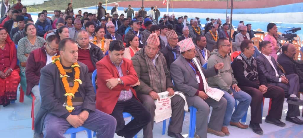 Treasurers conclude meeting with 18 point Dhading Declaration