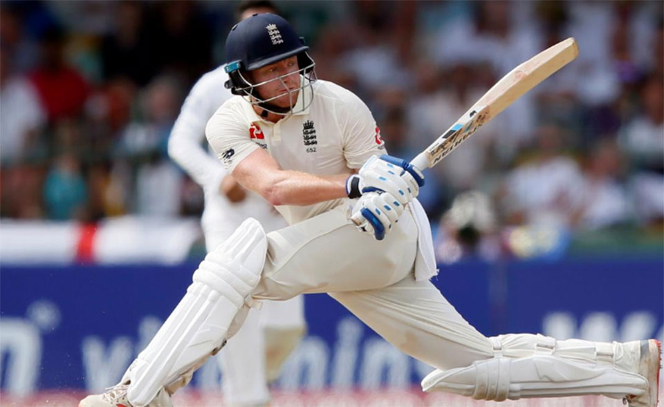 Fluent Bairstow props up England after wobbly start