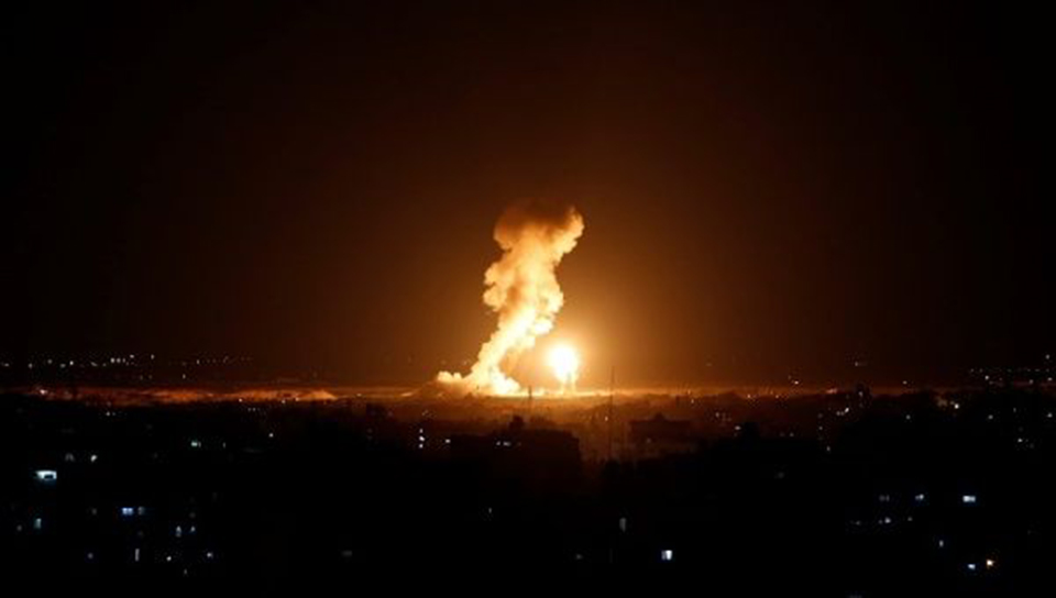 Ongoing Israeli airstrikes against Gaza kill 3 Palestinians