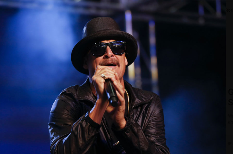 Kid Rock booted from leading parade after profane TV remarks