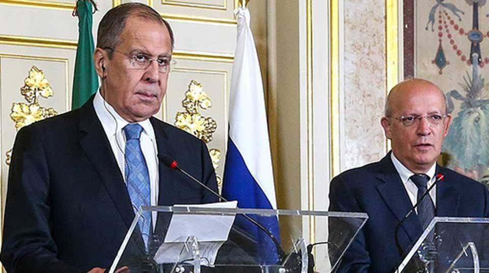 """Islamic State acting as US """"ally"""" for regime change in Syria, suggests Lavrov"""