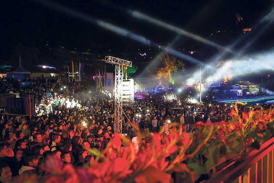 Nepathya rocks Sikkim Festival