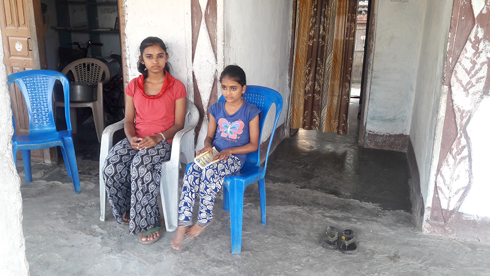 Nirmala's sisters fear sleeping at home in absence of mother